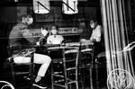 Sitting at the bar by Batsceba