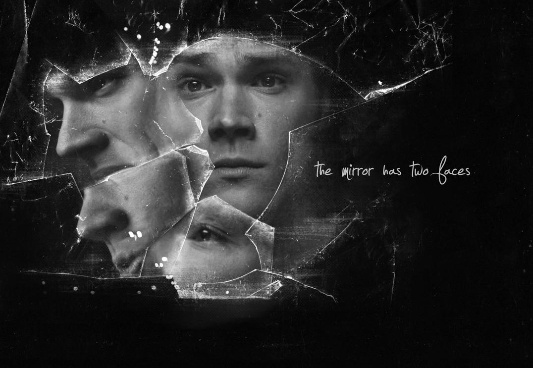The mirror has two faces by alexandra135 on deviantart for Mirror has two faces