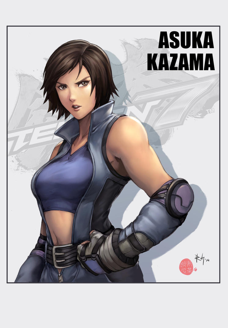 Asuka Kazama by r-chie