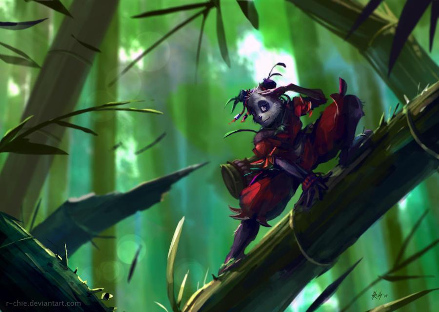 Female Pandawa Wakfu by r-chie