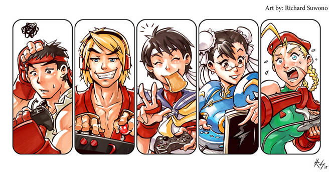 Street Fighter Playing Style !