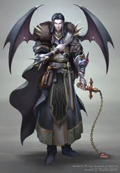 Vampire Priest by r-chie
