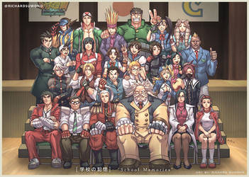 Rival Schools School Memories by r-chie