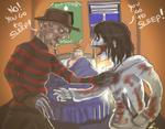 Freddy VS Jeff?