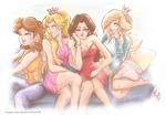 Super Mario Princesses: GIRLS Show Parody