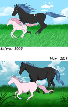 Before and  Now