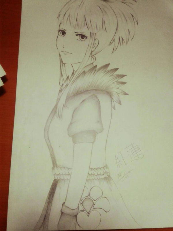My fanart of Guren (Naruto) by GurenSatomi03