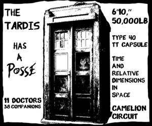 The TARDIS has a posse