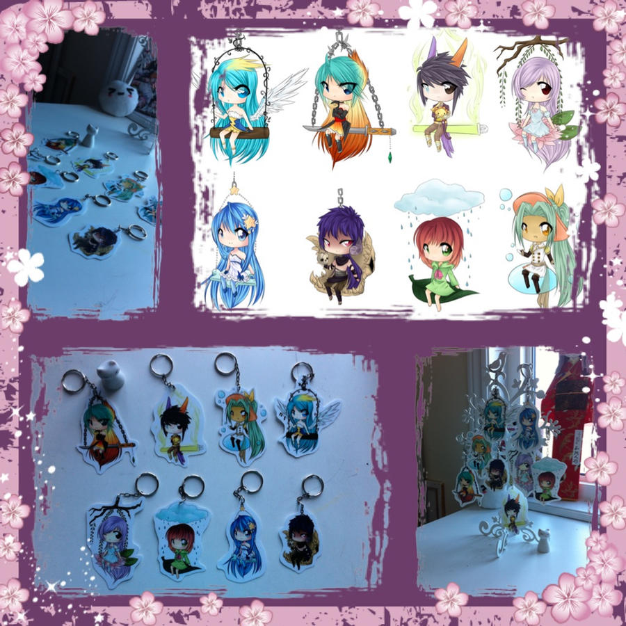 Anime North Key chains by JigokuShii