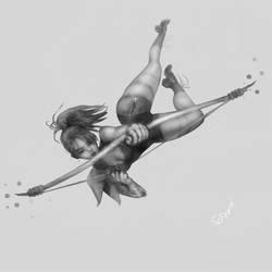 Female archer by SophiaFeesh