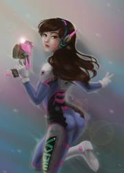 D.va Pastel Dreams by SophiaFeesh