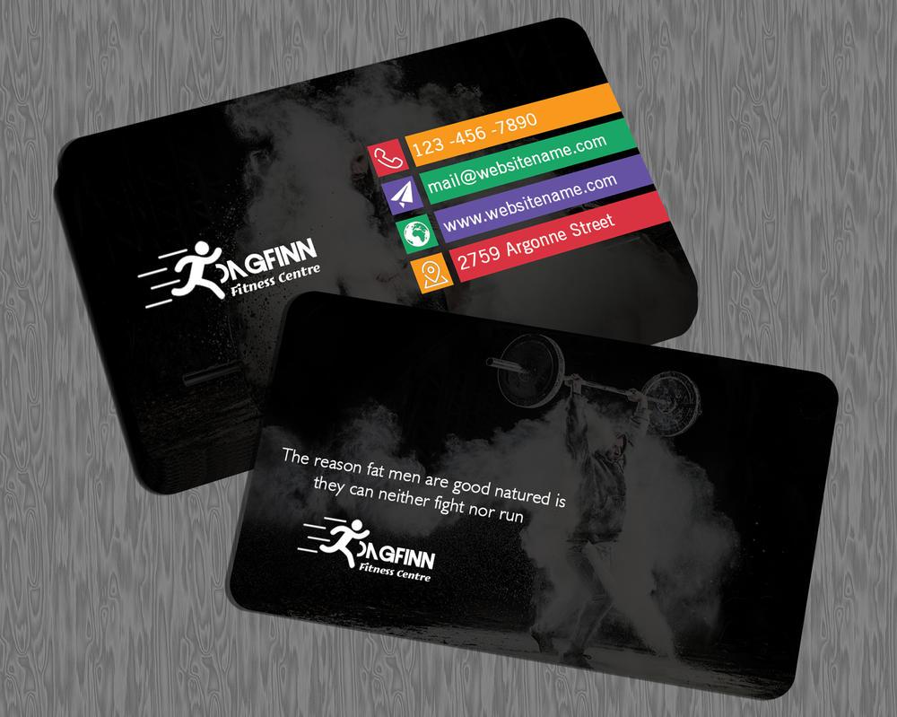 Dagfinn fitness centre business card by creativenick9 on deviantart dagfinn fitness centre business card by creativenick9 colourmoves