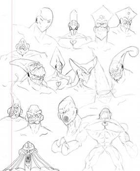 Living Souls Sketch Dump