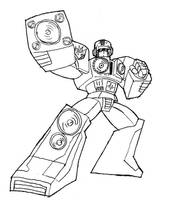 TRANSFORMERS OC - Bassblaster by CyberPictures