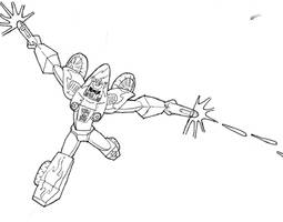 TRANSFORMERS OC - Skidshot by CyberPictures