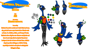 Imaginaria Ref Sheet - Katrina Peacock by CyberPictures