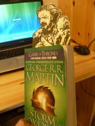 Eddard Stark Bookmark by MattRose1