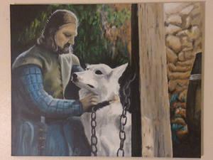 Eddard and Lady
