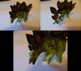 Stegosaurus by MattRose1