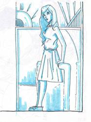 Sketch - study - monochrome - etude