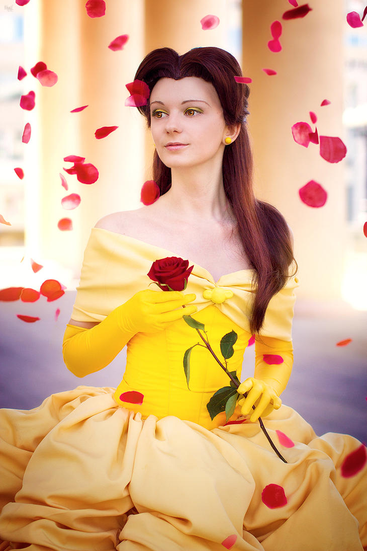 Beauty and the Beast - Belle by Melali