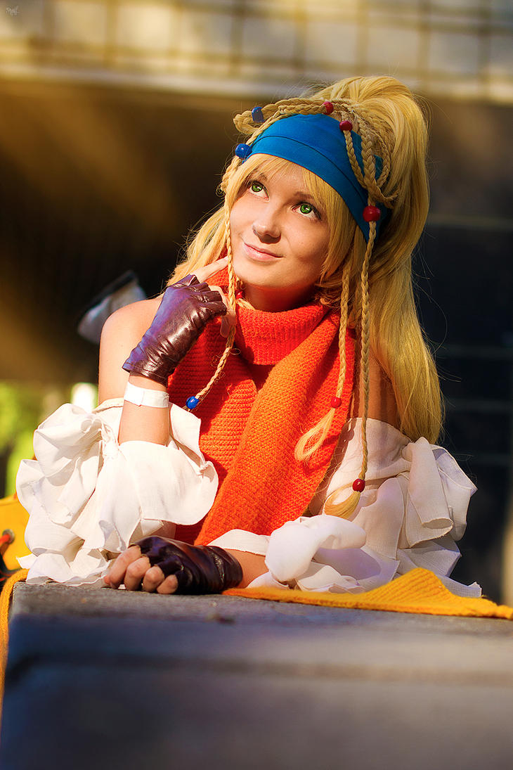 Final Fantasy X-2:  Rikku by Melali