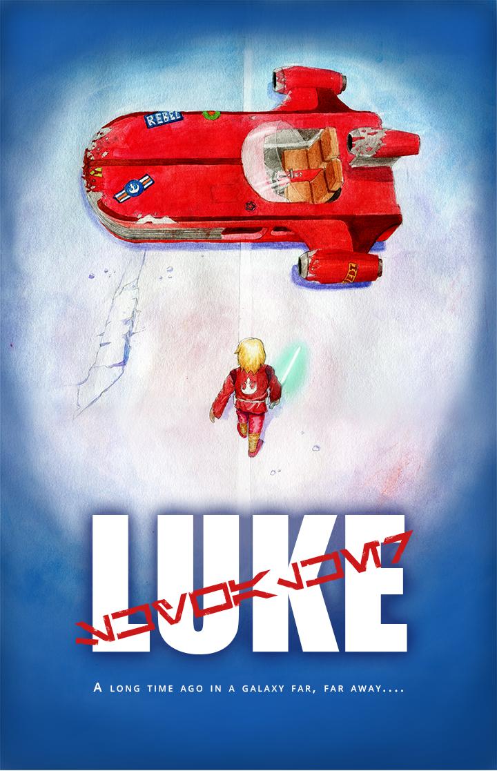 Luke Akira by benbyrdart