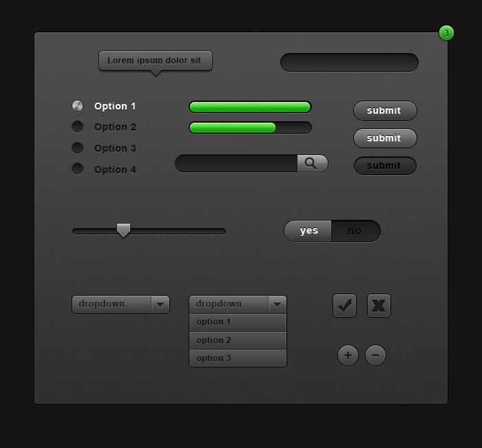 eneaa Dark UI by eneaa