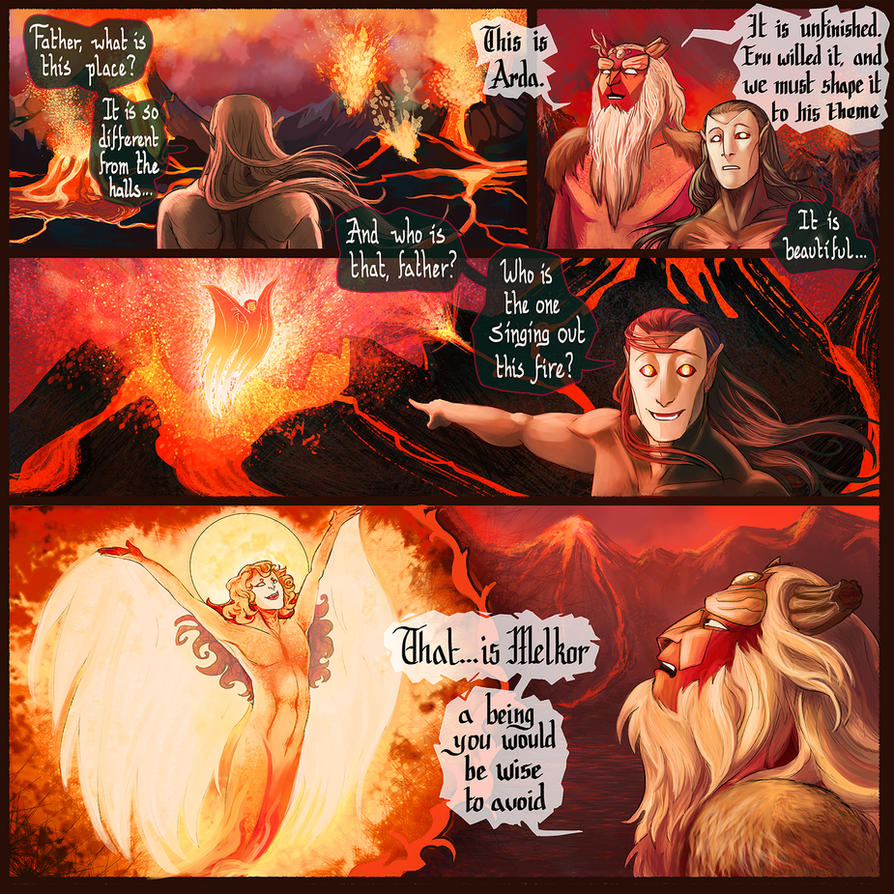 Forging Arda- page 4 by RivkaZ