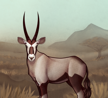 Prompted - Gemsbok by Nin0la