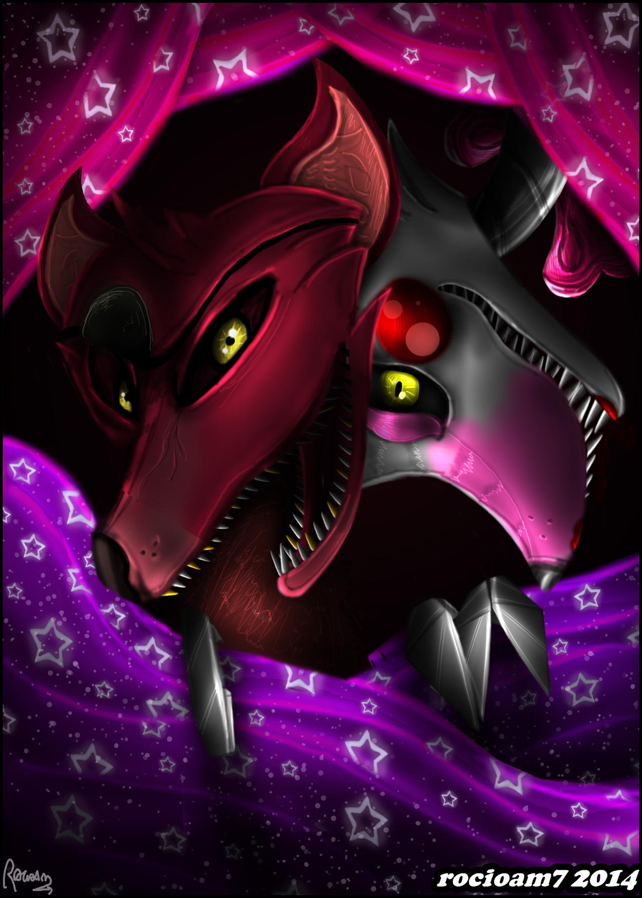 Ask foxy by fnaf foxy hd walls find wallpapers