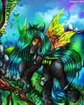 Queen Chrysalis (+Speedpaint)