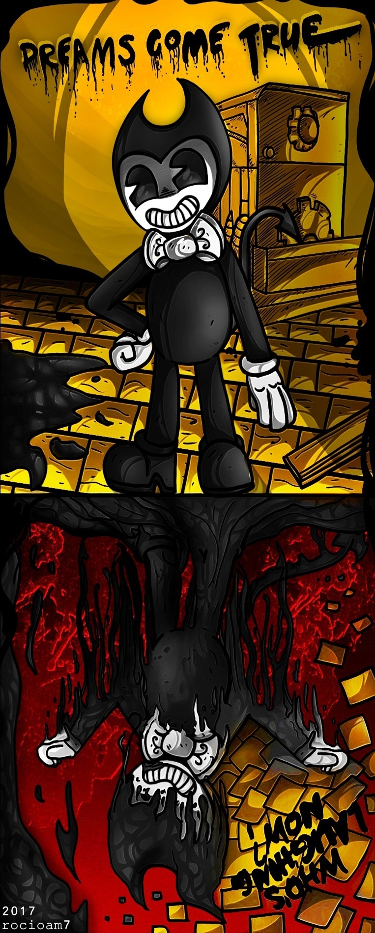 patreon bendy and the ink machine