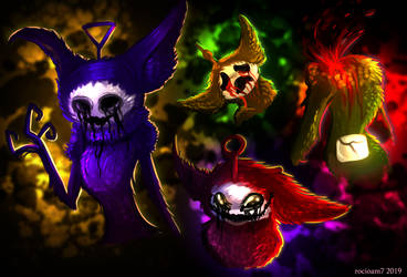 The four calamities by rocioam7
