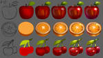 Fruits - Tutorial by rocioam7