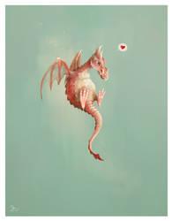 Fruit Dragons: Strawberry by efelidi