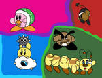 Kirby's Mario Bros. Copy Abilities