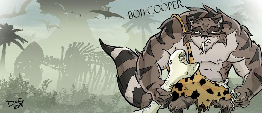 sly and his ancestor caveman bob cooper by loaldnt on deviantart