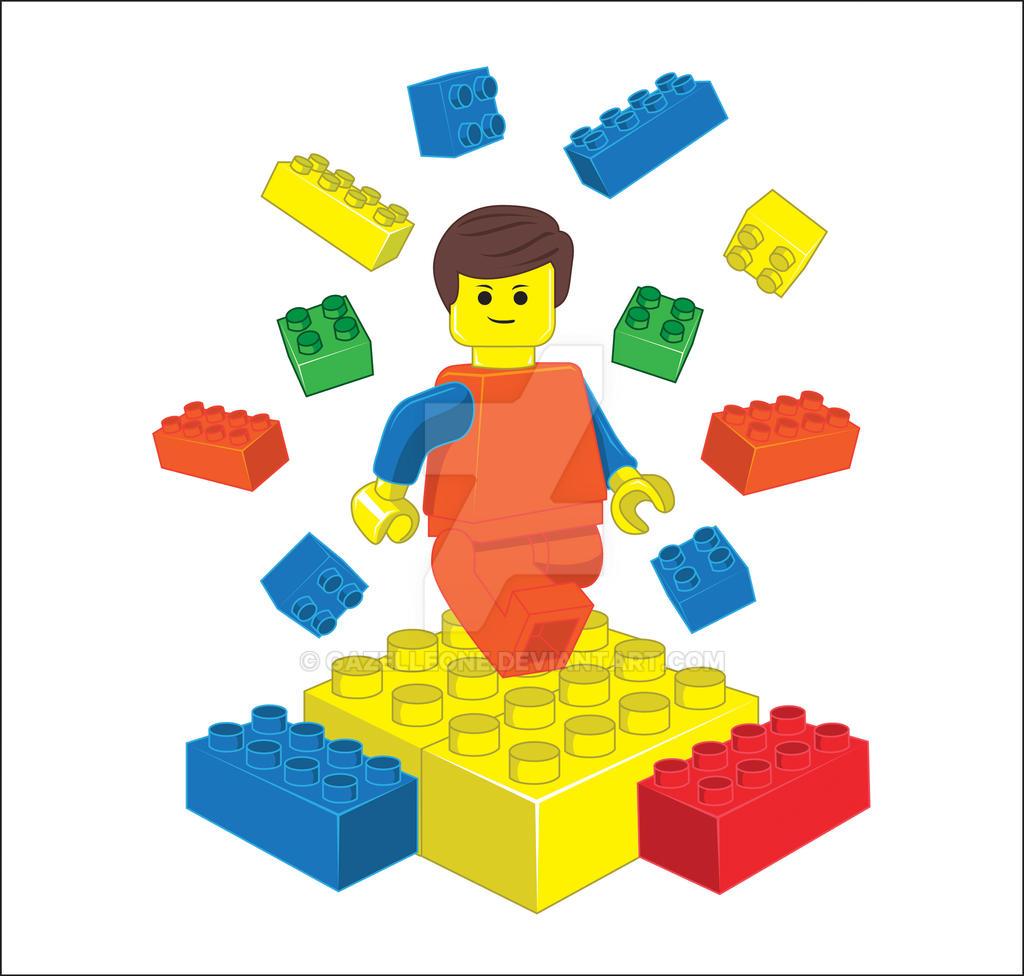 Vector - The Lego by gazelleone on DeviantArt