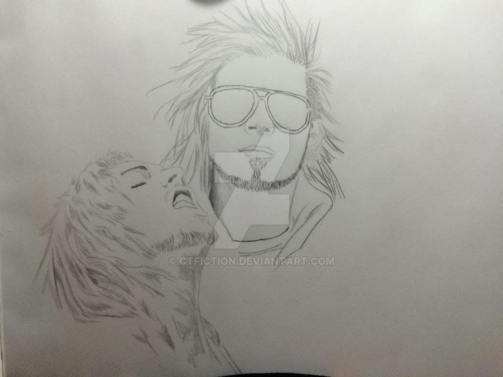 Work in Progress ~*~ Fan Art ~*~ Like A Storm by CTFiction