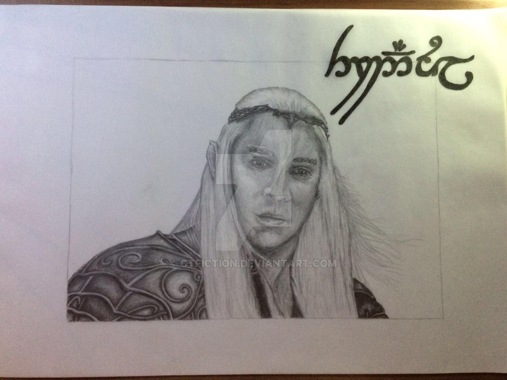 Fanart ~ Thranduil ~ The Hobbit ~ Lee Pace by CTFiction