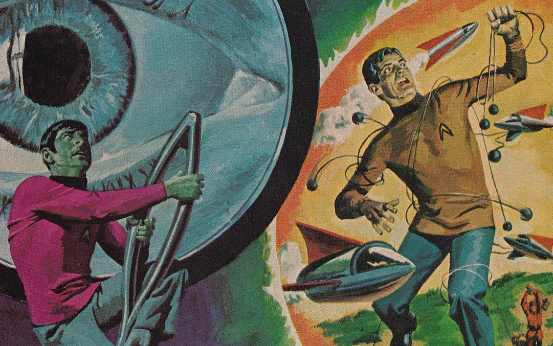 Vintage Star Trek Wallpaper By Futurephonic