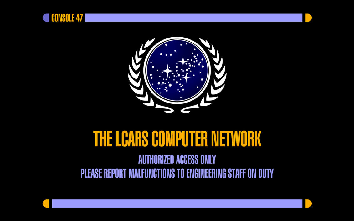 LCARS Computer Network by futurephonic