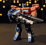 Optimus Prime and Autobot Roller