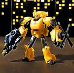 Bumblebee and Blazemaster