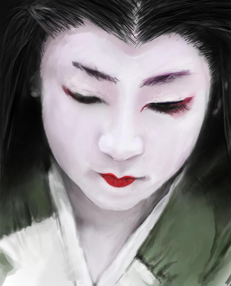 Geisha by SkaraManger