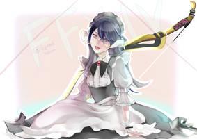 FFXIV character art by xxHazukiixx