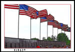 Flags at The Wall