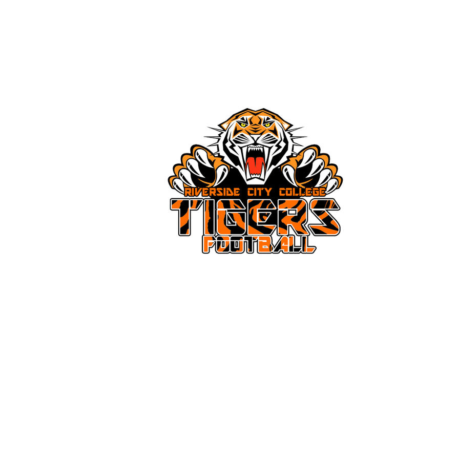 Riverside city college football logo by mind design on