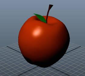 3D Apple by candychua